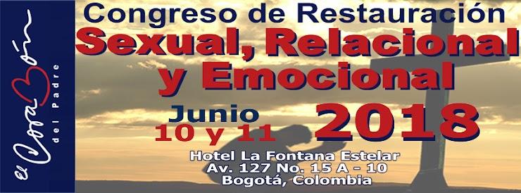 Congreso de Restauración Sexual, Relacional y Emocional Junio 10 y 11