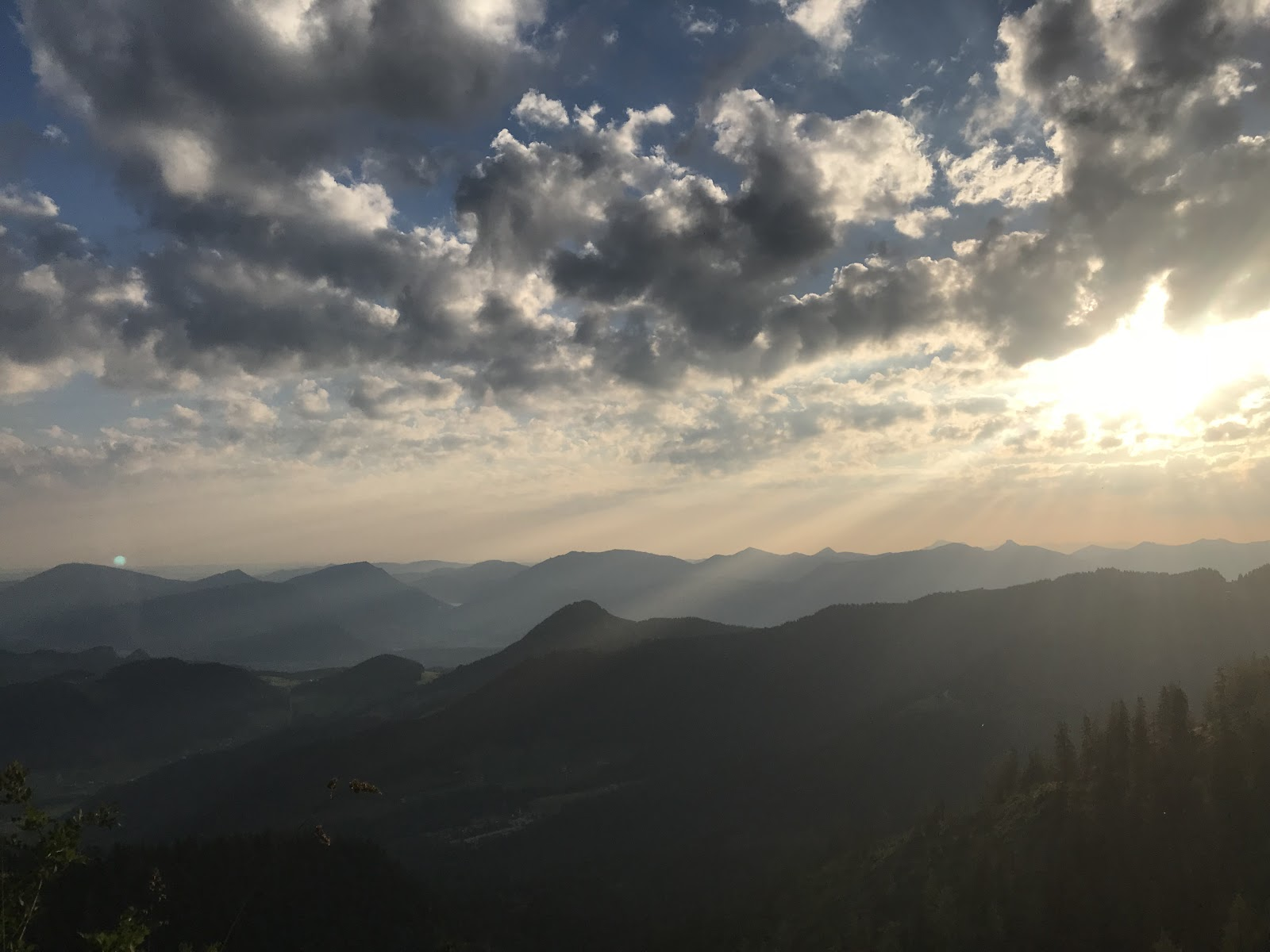 Cycling Kehlsteinhaus - Eagles Nest - sunrise and mountains