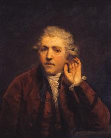 a self portrait of a deaf man