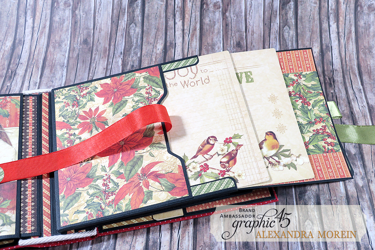 Winter Wonderland Mini Album, Project by Alexandra Morein, Product by Graphic 45, Photo 14.jpg