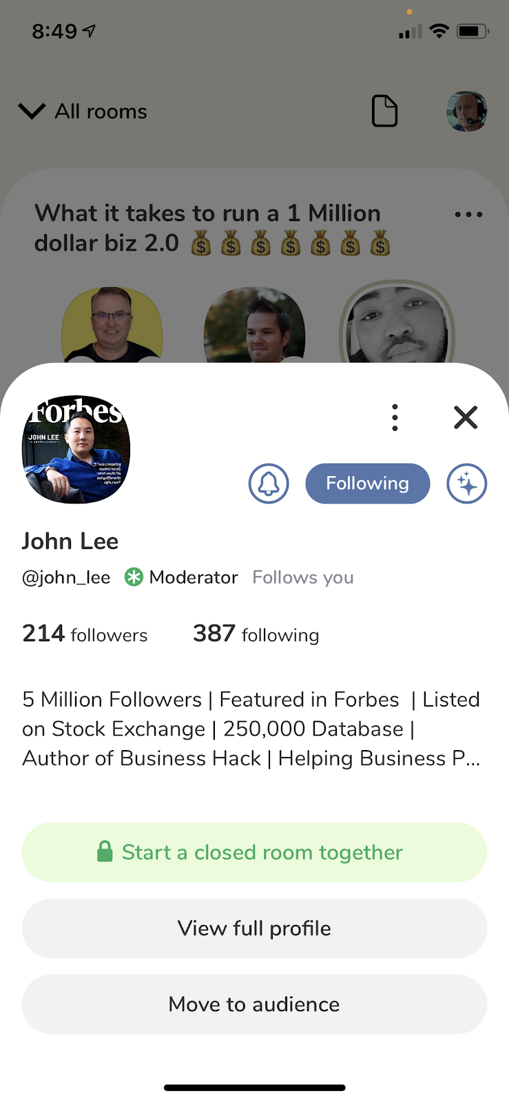 John Lee featured in Forbes