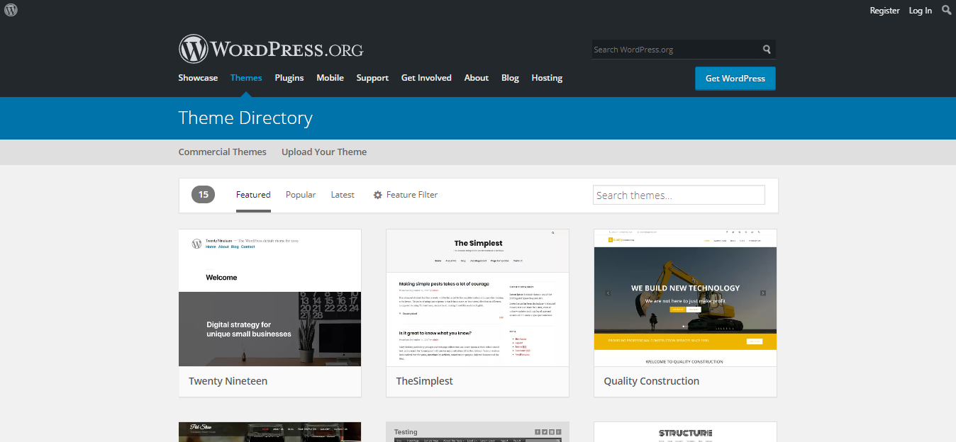 wordpress vs drupal tema