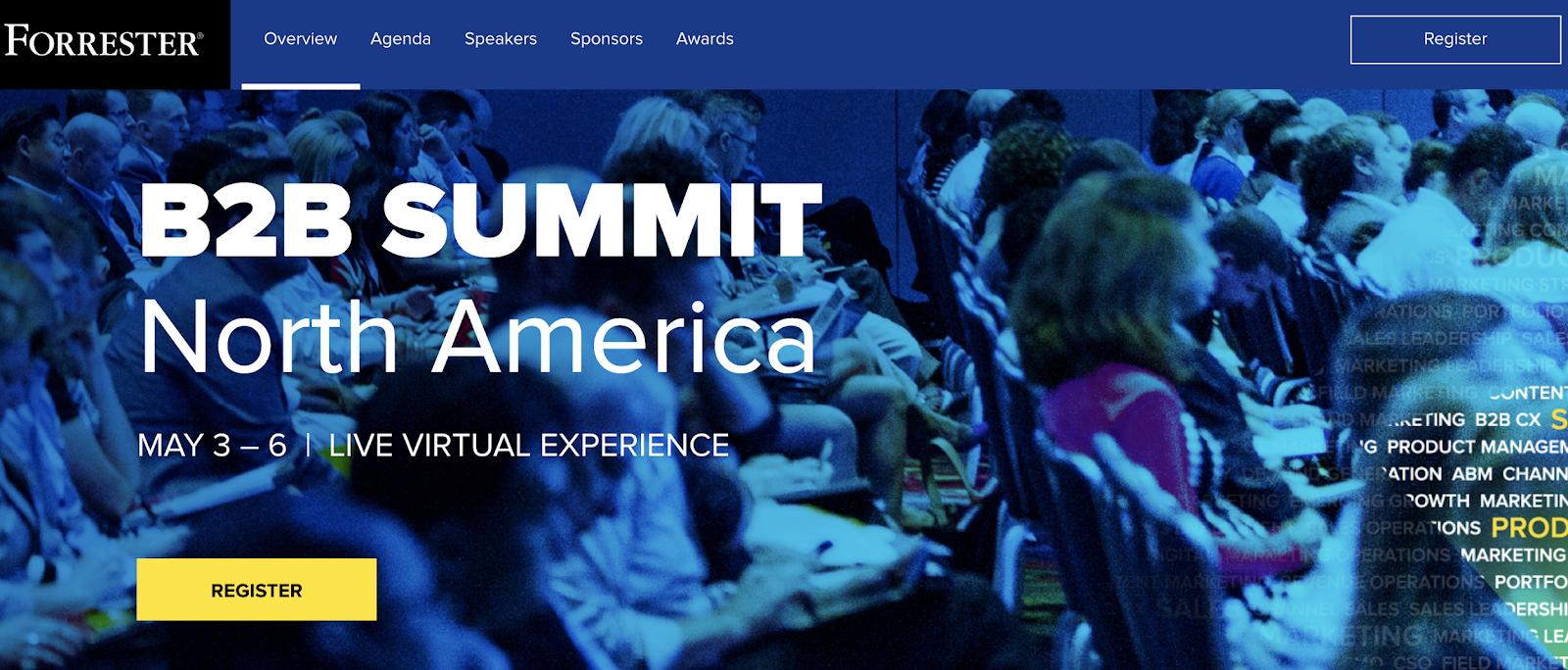 B2B summit North America