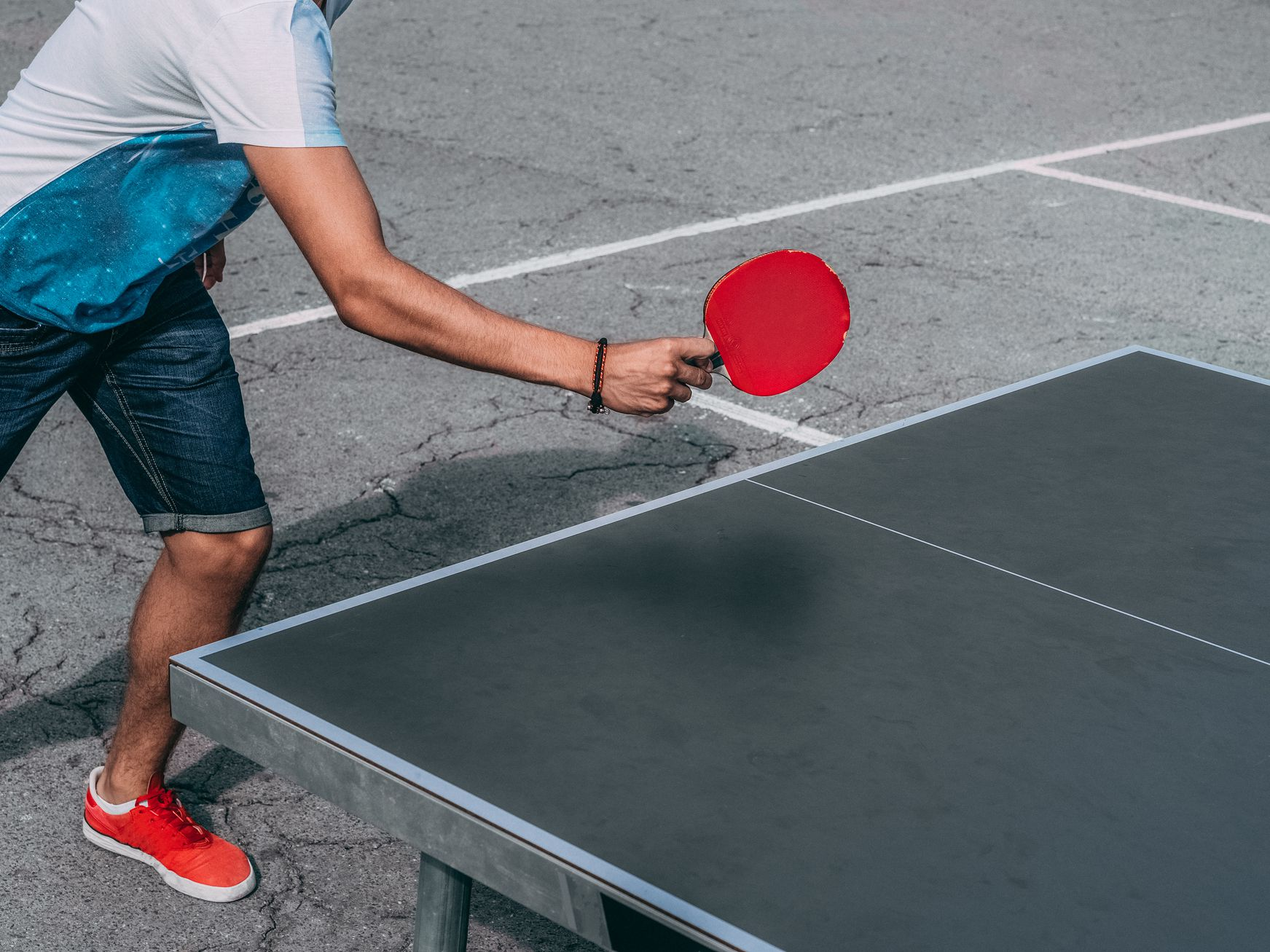 Kiểm soát sức mạnh cũng là một phần quan trọng của bóng bàn
