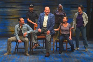 The cast of La Jolla Playhouse's world-premiere musical COME FROM AWAY all photos by Kevin Berne.