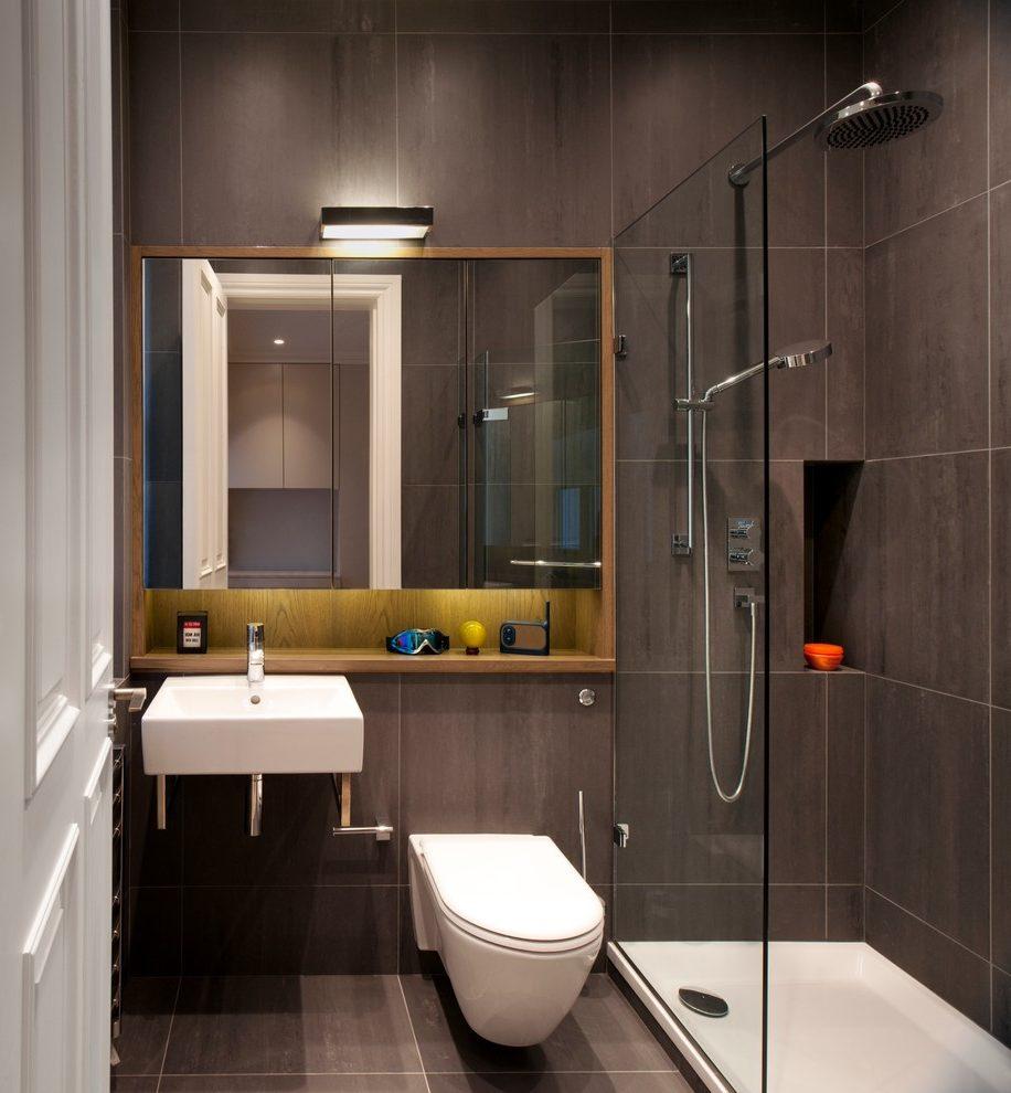 Mẫu thiết kế phòng tắm trong phòng ngủ nhỏ gọn nhưng vẫn tạo nên sự sang trọng cho căn phòng của bạn