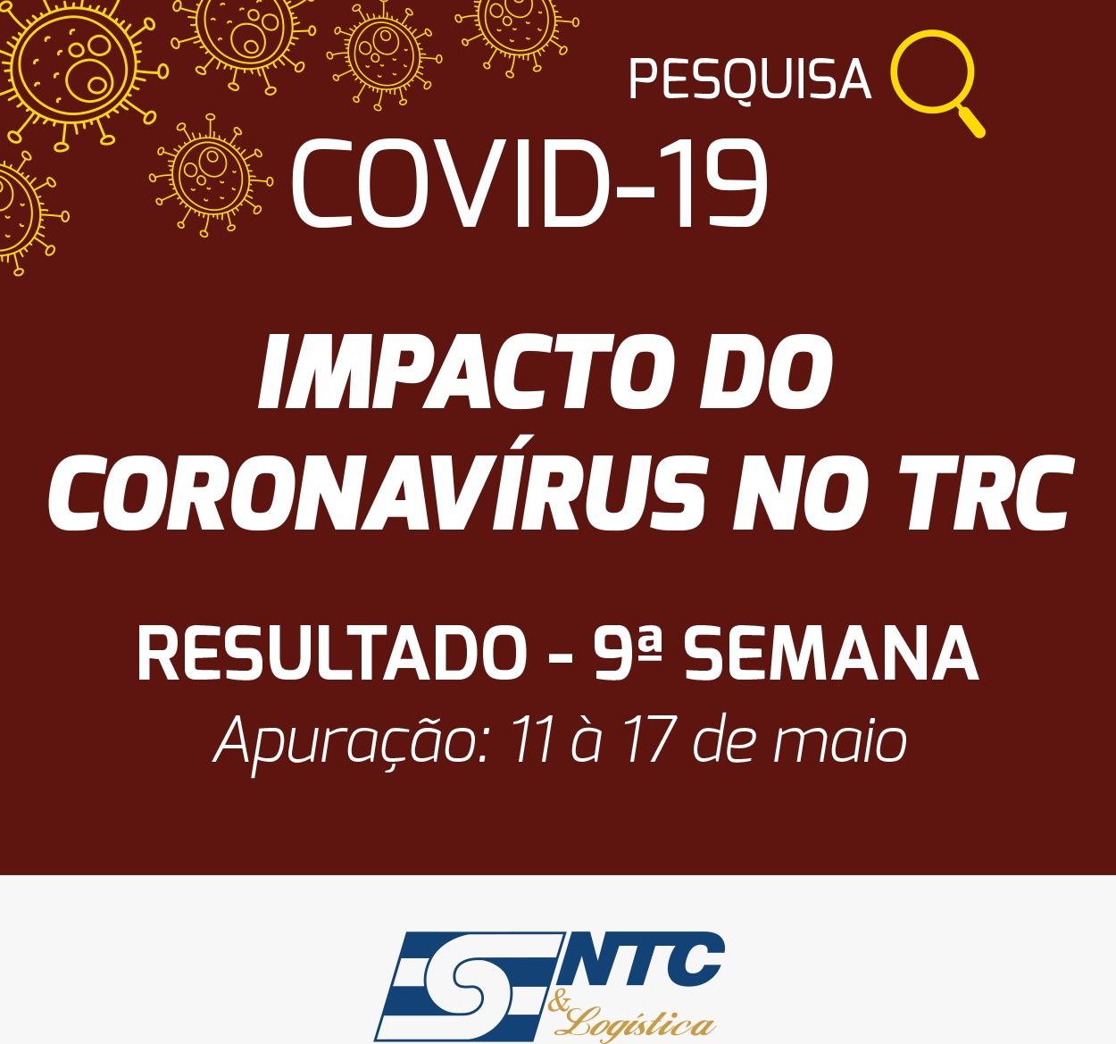 DECOPE divulga a nona pesquisa sobre o impacto da Covid-19 no transporte de cargas