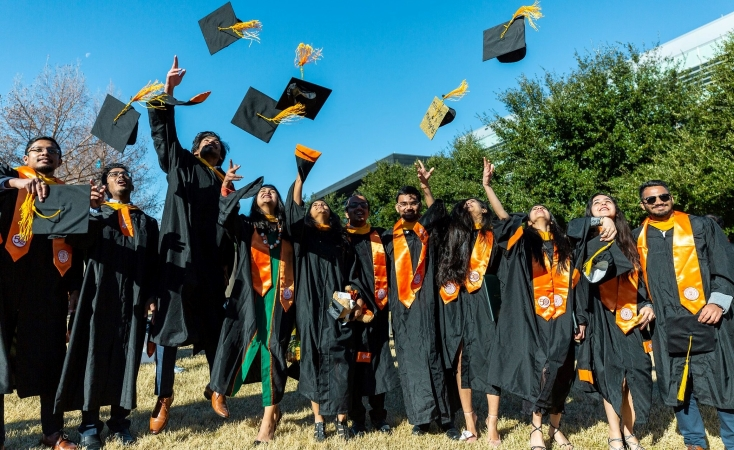 recent graduates of University of Texas at Dallas