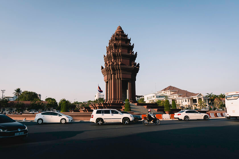 Phnom Penh Independence Monument.