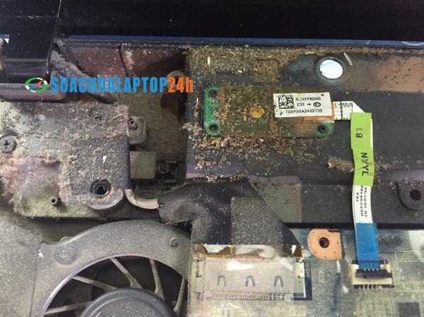 vệ sinh bảo dưỡng laptop