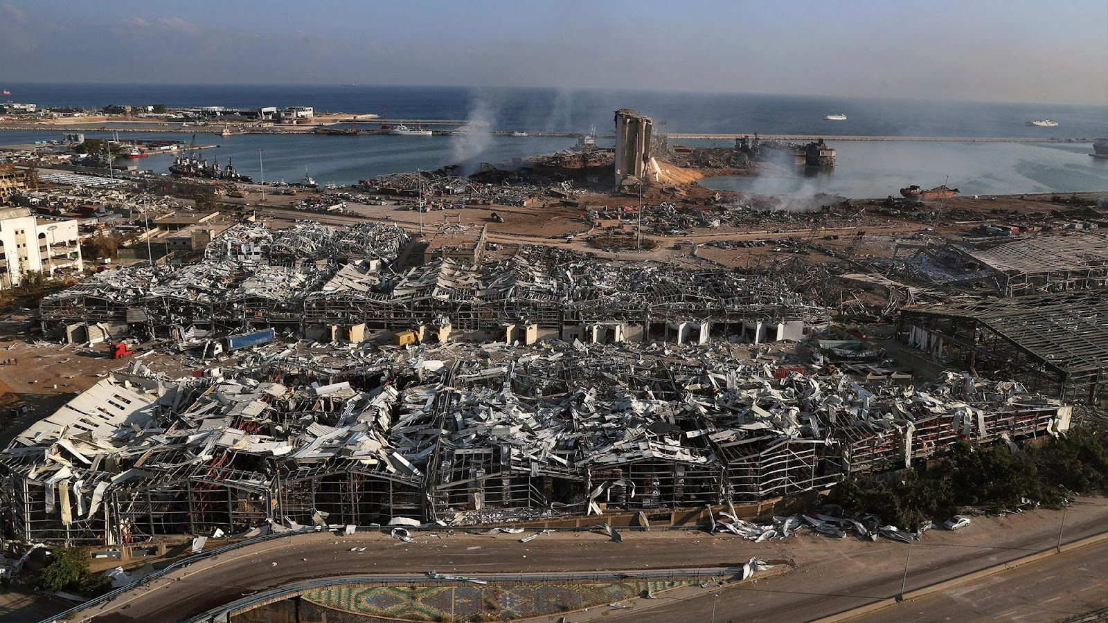 Beirut port fire: A crime against Lebanese workers - World ...
