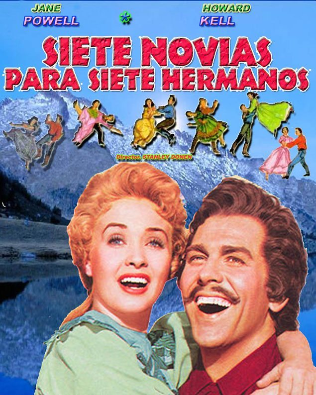 Siete novias para siete hermanos (1954, Stanley Donen)