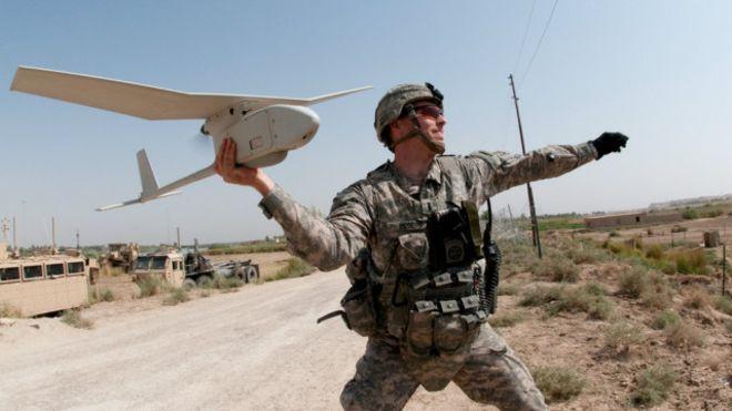 U.S Army drones