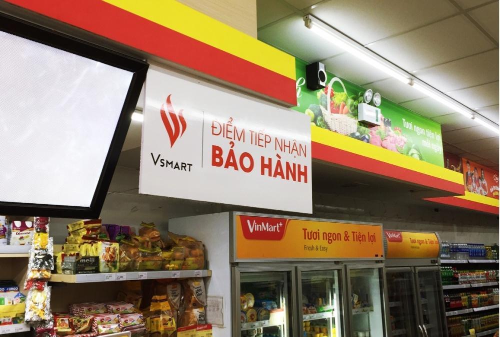 bao hanh dien thoai vsmart 18 thang vingroup bien cua hang tien ich vinmart thanh cac diem tiep nhan