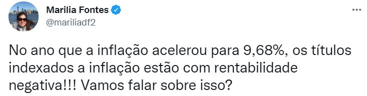 Print do tweet da Marilia (@mariliadf2).
