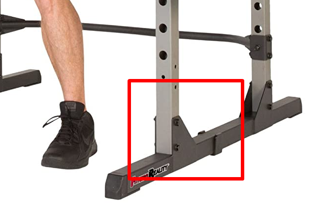 Triangular gusset plates for extra stability