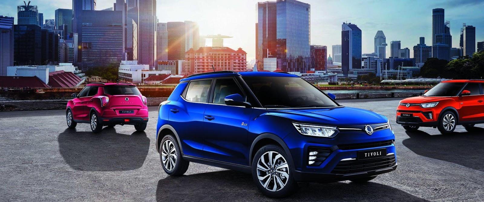 10 SUV-uri noi pe care ți le poți cumpăra cu mai puțin de 20.000 de euro SSang Yong Tivoli X150