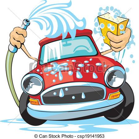 Bildergebnis für auto waschen als zeichnung