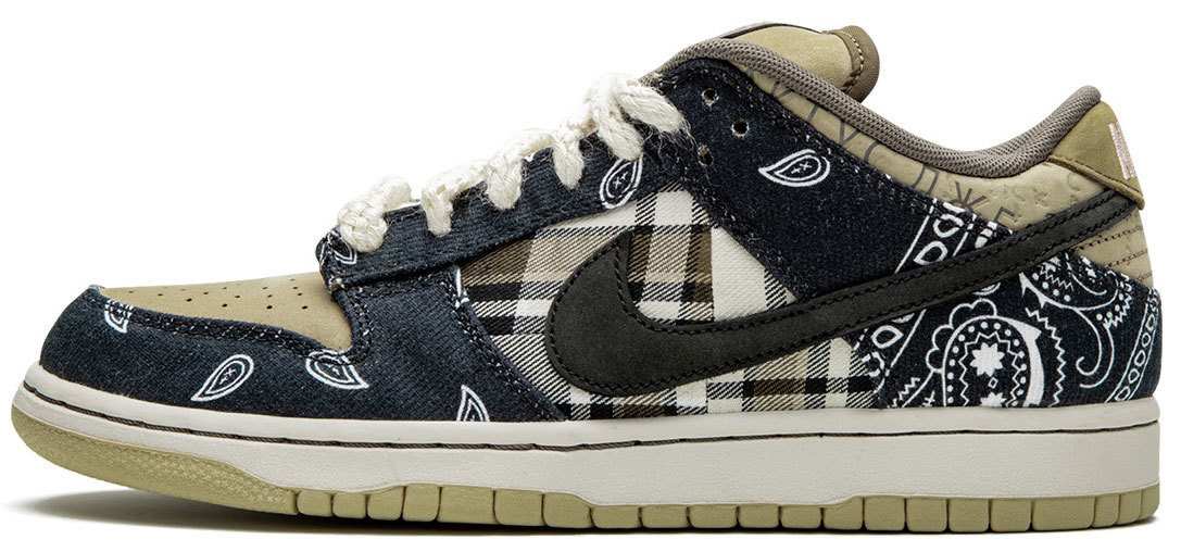 TRAVIS SCOTT X NIKE SB DUNK LOW — Rarest Sneaker 2020