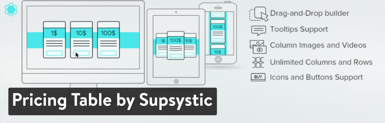 Bảng giá của Supsystic