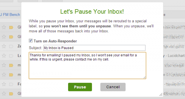 automatic email response