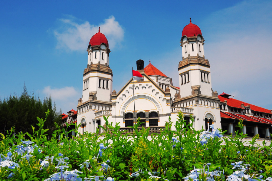 lawang sewu a historical building in Indonesia