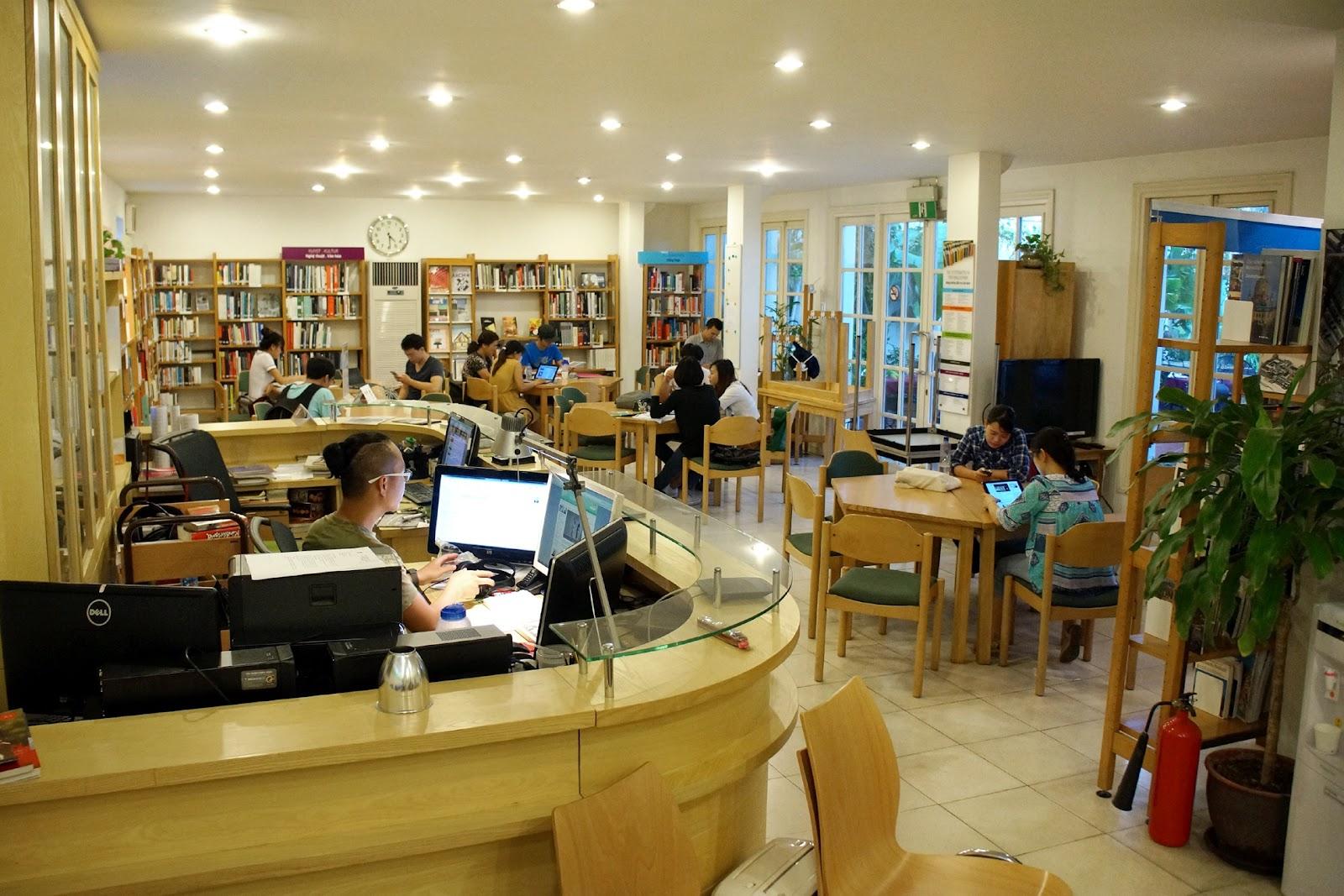Thư viện Viện Goethe Hà Nội - Trung tâm tiếng Đức tại Hà Nội uy tín