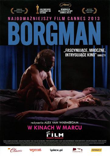 Przód ulotki filmu 'Borgman'