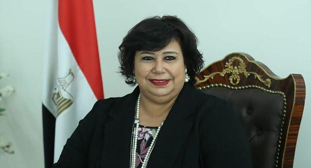 """وزيرة الثقافة المصرية تتحدث لـ""""سبوتنيك"""" عن خطة استئناف الأنشطة والمسارح  والإجراءات المتخدة - Sputnik Arabic"""