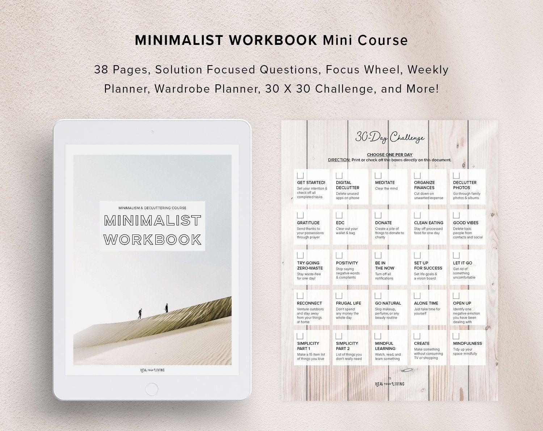 The Minimalist Workbook Mini Course