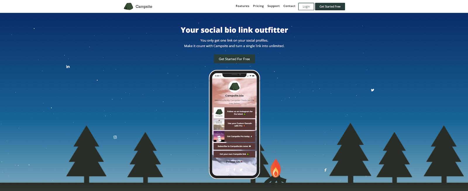 Campfire website