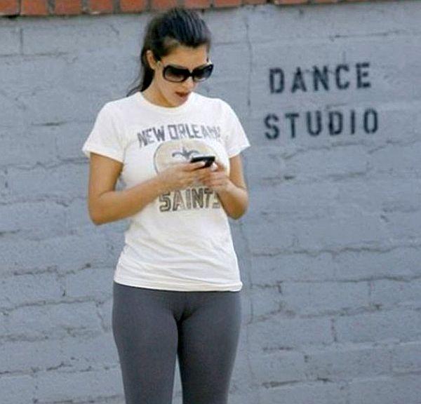 Kim Kardashian Camel Toe