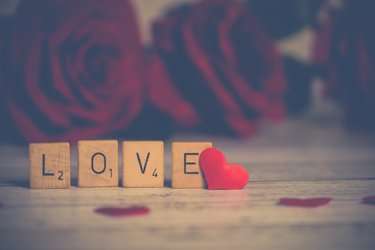 letters that spell out love