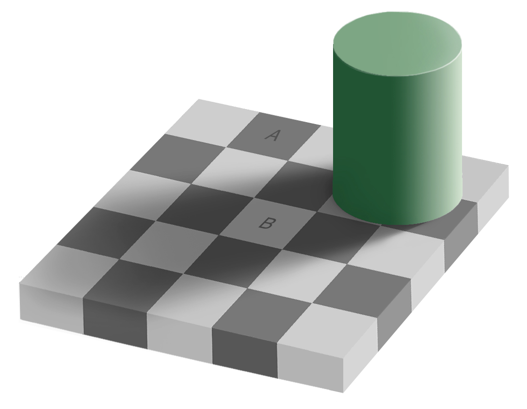 Image result for optical illusion grey square
