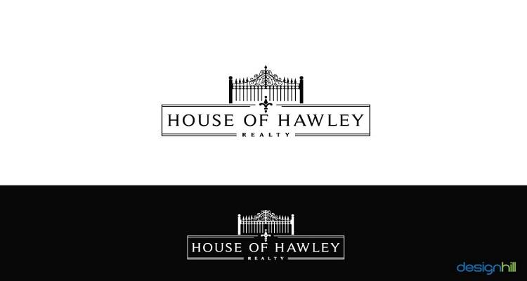 real estate logos house of hawley