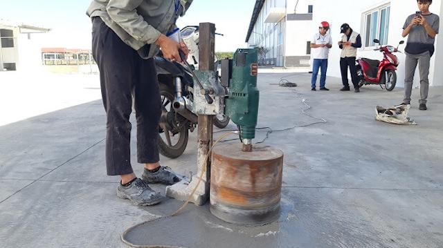 Dịch vụ khoan cắt bê tông tại Tây Ninh được nhiều người sử dụng