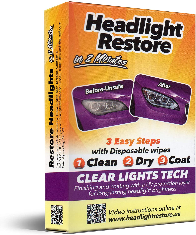 Clear Lights Tech (CLT) Headlights Restoration Kit