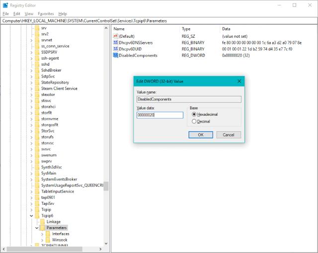 CORREÇÃO: os aplicativos da Microsoft Store (Edge, Mail, etc.) não conseguem se conectar à rede após a atualização do Windows 10 versão 1809