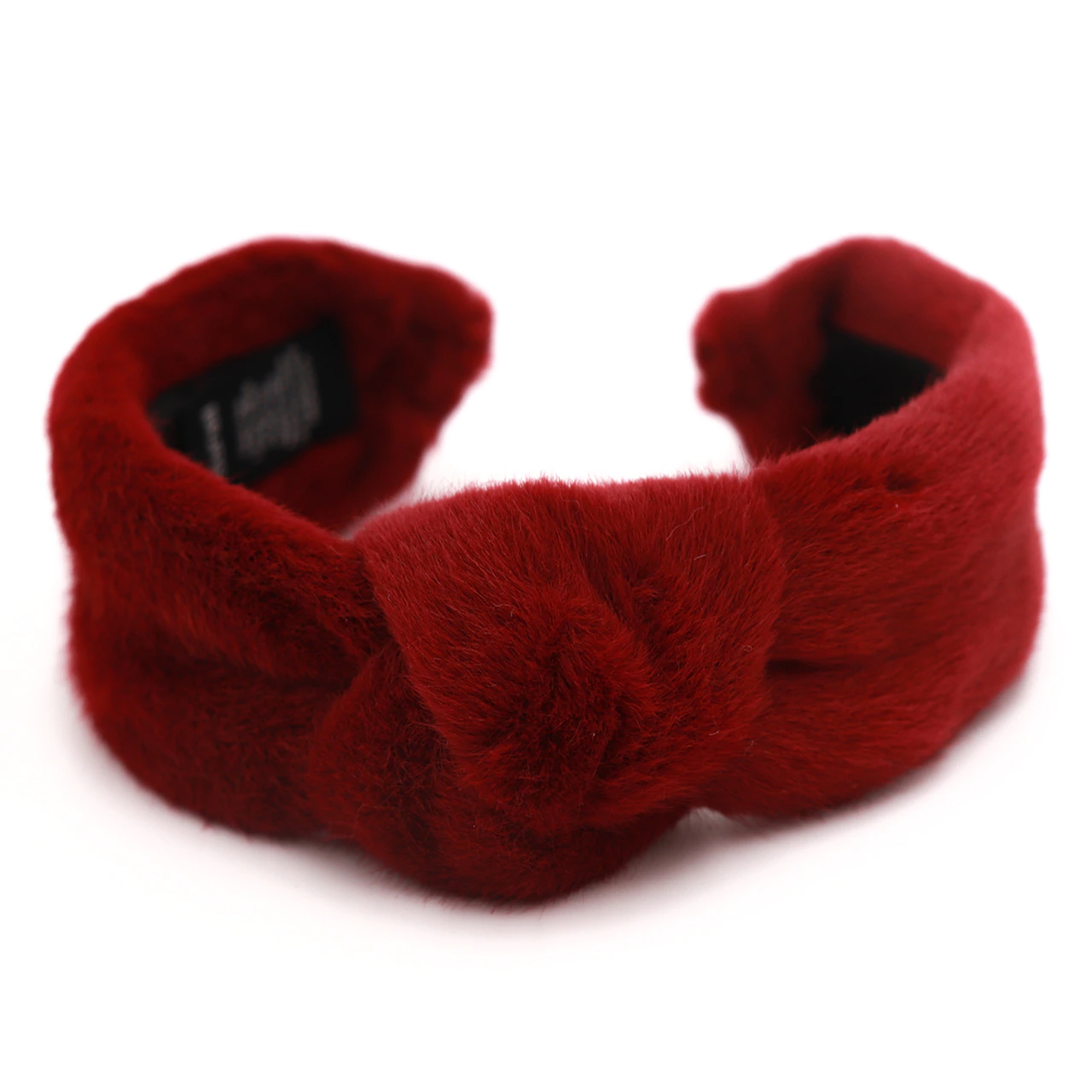 Faux Mink Fur Headband with Knot
