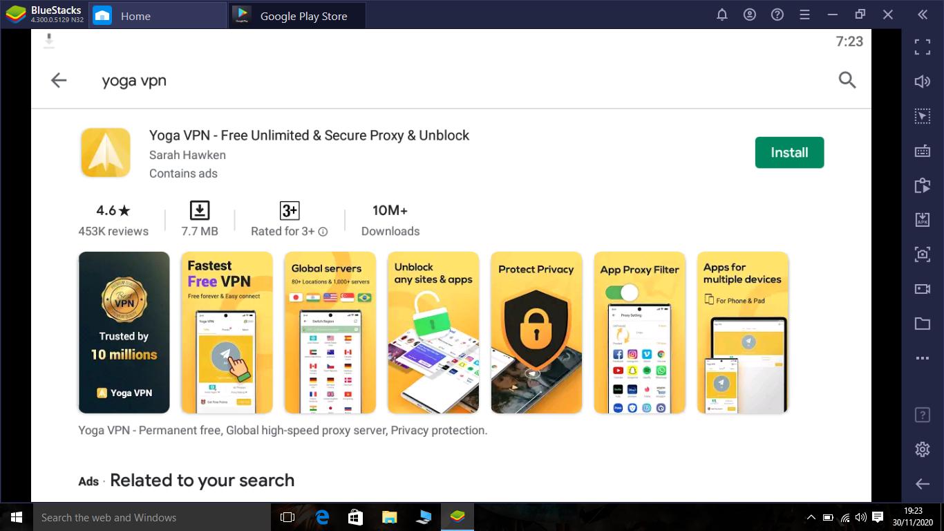 Yoga VPN App