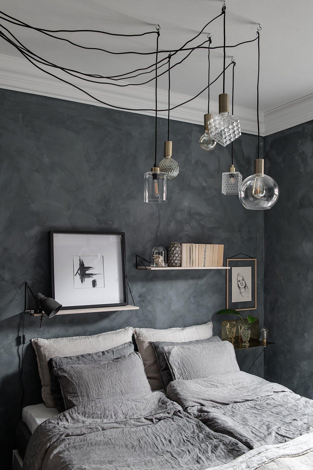Scandinavian Masculine Bedroom