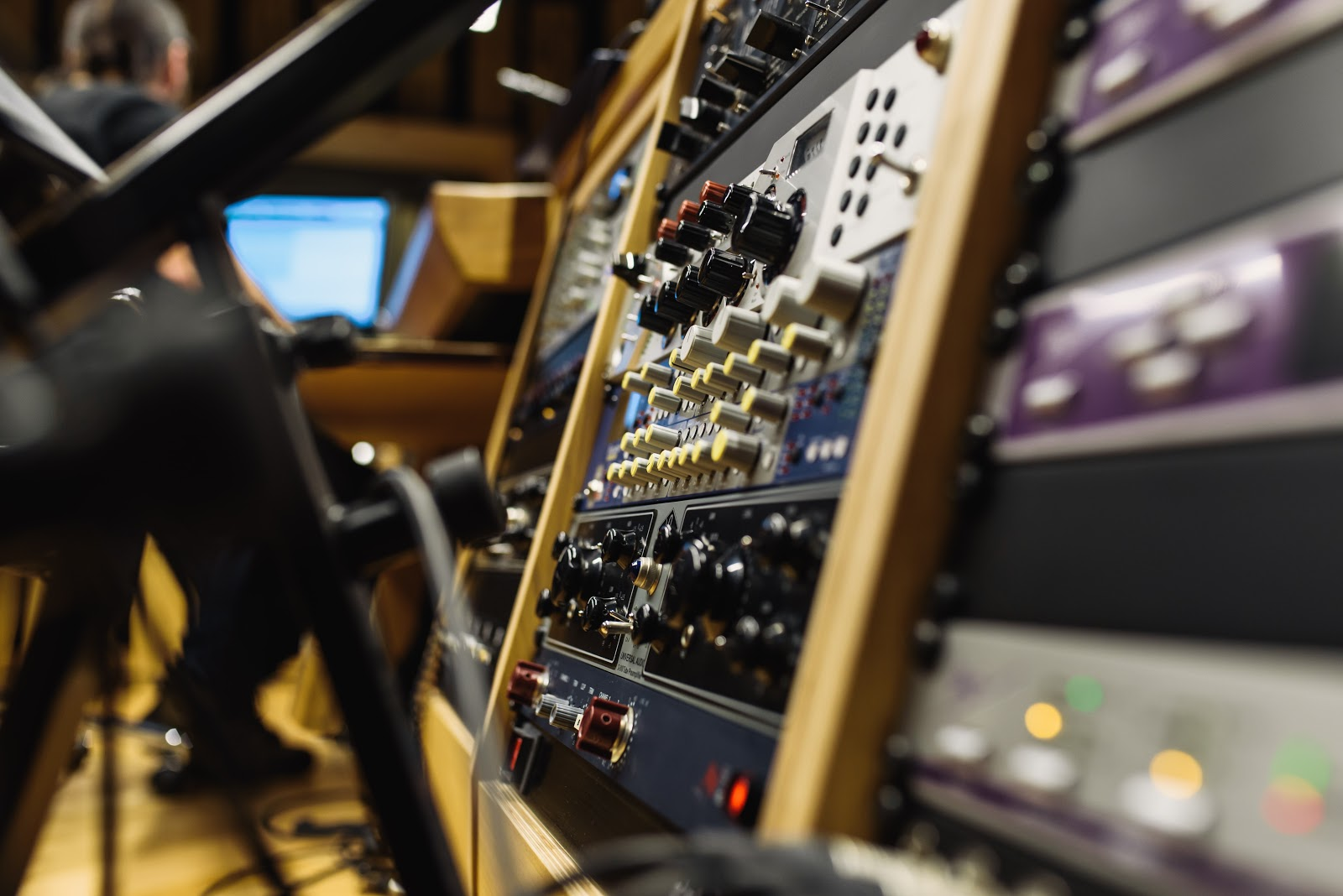 writing music in license production studio