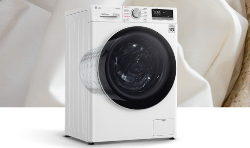 Máy giặt sấy LG Inverter 8.5 Kg FV1408G4W tích hợp công nghệ LG Steam™ diệt khuẩn 99.9%.