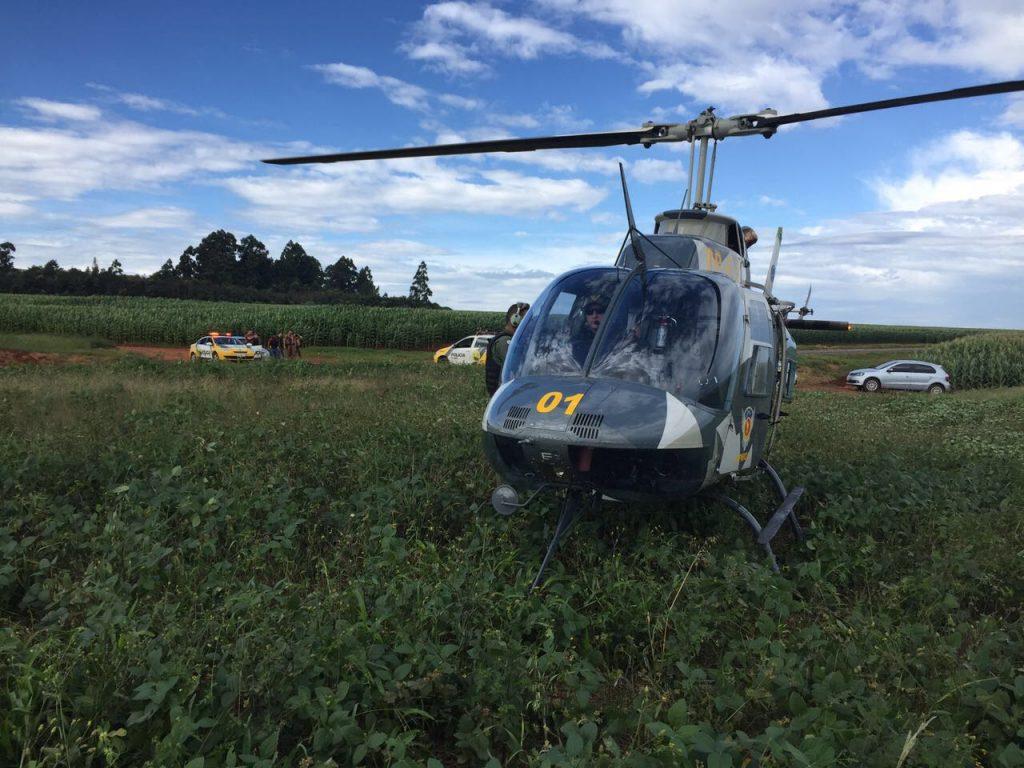 helicoptero opração