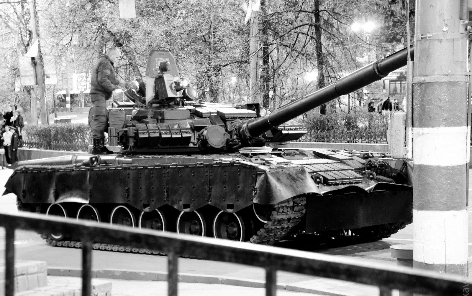 Газотурбинный танк Т-80