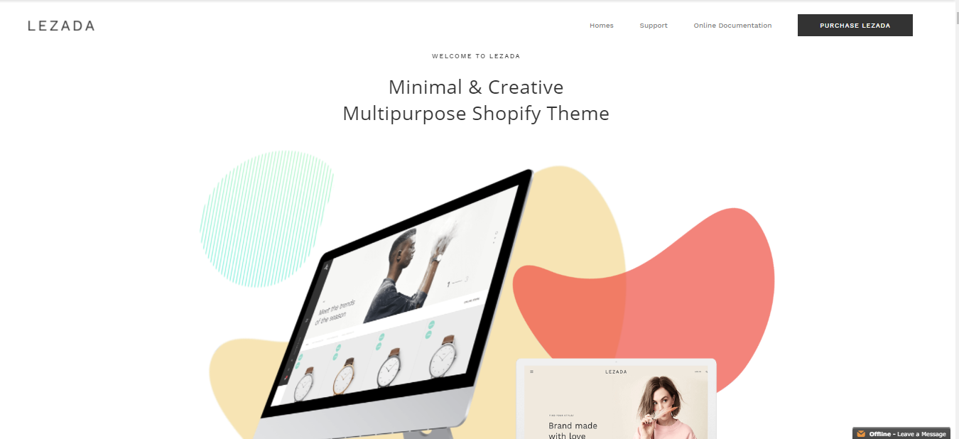 Lezada - Best free shopify theme for dropshipping