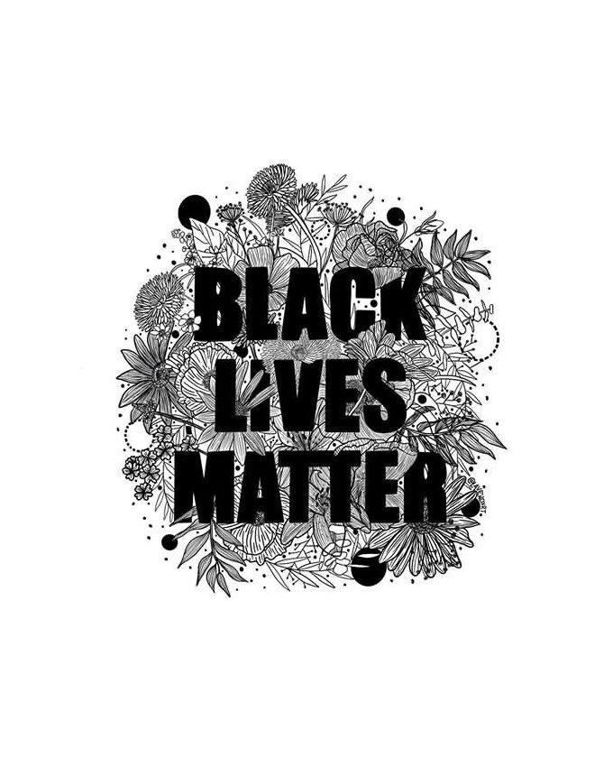 Black Lives Matter Fundraiser Design