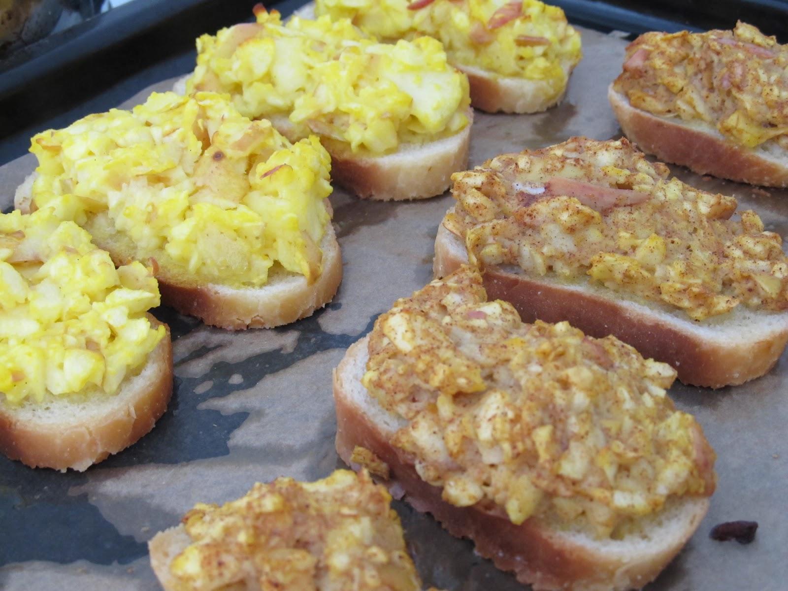 Рецепт до сніданку: грінки з яблуками в духовці