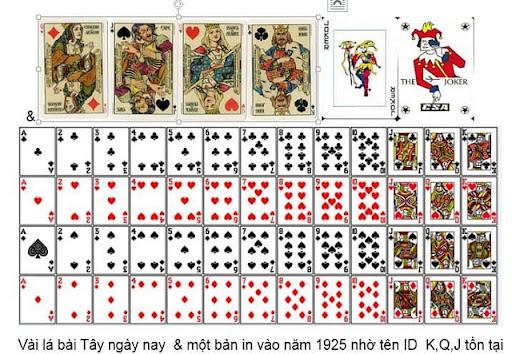 Bộ bài sử dụng khi chơi game bài Joker