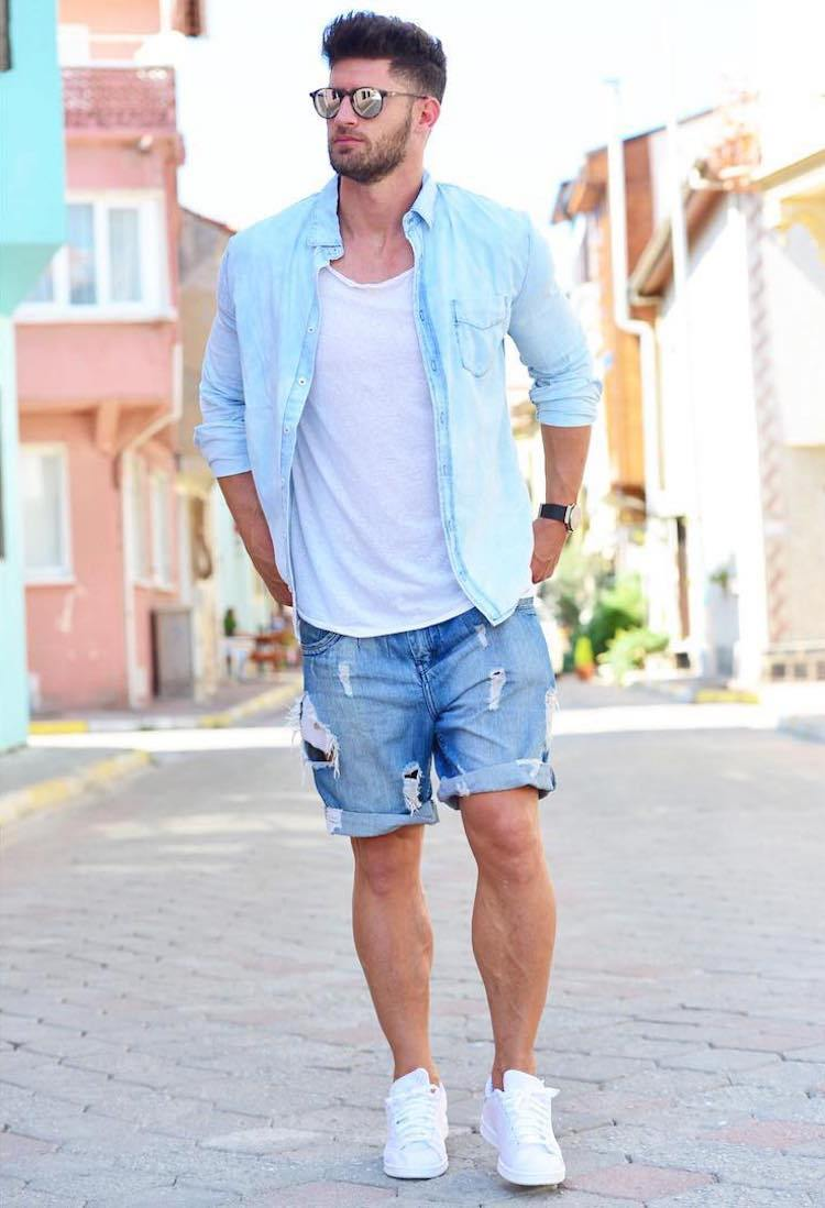 Image result for shorts and shirt men